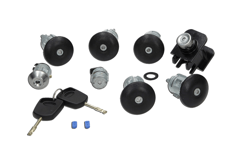 Compleet lock set en sleutels Ford Transit Connect